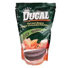Ducal Black Beans Bag 141 Oz