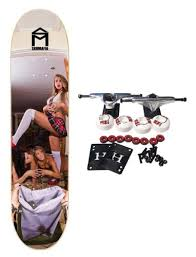 Right Size Trucks For 825 Deck by Skate Mafia Complete Skateboard Girls Trick Or Treat 8 25