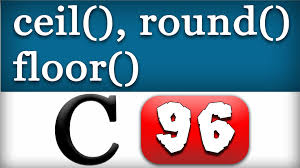 Javascript Math Ceil Floor by Ceil Round Floor Math Functions In C Programming Language Video