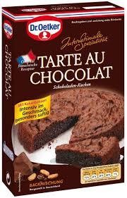 dr oetker backmischung tarte au chocolat backideen