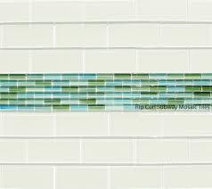 white glass subway tile kitchen backsplash tiles home idolza