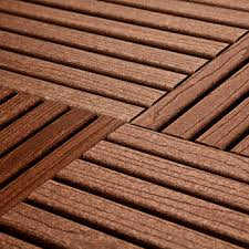 recycled plastic chocolate designer deck outdoor tiles wood