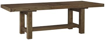 Perfect Dining Room Table With Leaf 97 Extension Amish Farmhouse Stowleaf New Signature Design By Ashley