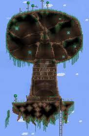 Terraria Deku Tree by ConflictBaguette