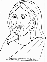 Coloring Page Jesus Color Pages At Style Picture