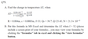 Change In Temperature Equation HELP