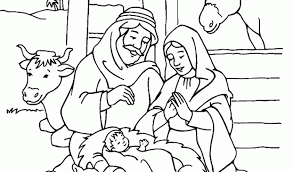 Birth Of Coloring Pages Jesus Page Ideas
