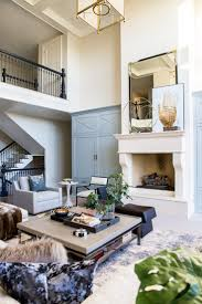 French Country Living Rooms Pinterest by French Country Blue Built Ins Oversized Wood Fireplace Beautiful