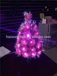 Fiber Optic Mini Led Christmas Tree Small Trees