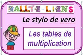 comment apprendre table de multiplication apprendre et réviser les tables de multiplication le stylo de vero