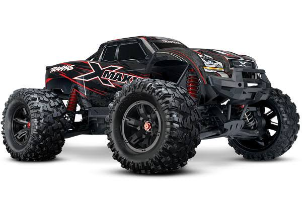Traxxas 8S X-Maxx 4WD Brushless Electric Monster RTR Truck - Red