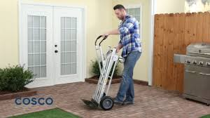3-in-1 Aluminum Hand Truck/Assisted Hand Truck/Cart - YouTube Sydney Trolleys At88 Standard Hand Folding Trucks Dollies At Lowescom Motorized Truck Dual Pneumatic Tires Ag Tread Front Plate Cosco 3 In 1 Alinum Review Youtube 2 In Dolly Utility Cart Heavy Duty Cadian Tire Hand Truck 9899 Redflagdeals 1000 Lb In Assisted With Flat Free Carts And 184149 Convertible Alinium Trolley Buy Steel On Wesco Industrial Products Inc