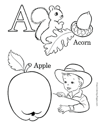 Free Printable Preschool Alphabet Coloring Pages Find This Pin And More