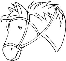 Horse Head Coloring Page Pages Realistic Dragon Of Co Sheet