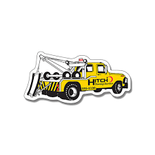 100 Truck Magnet Tow Shape OMG National Promo Items
