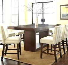 Tall Dining Room Sets Pub Height Table Counter Glass