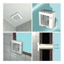 extracteur d humidite avec a rateur salle de bain ventilation