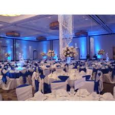 Wedding Flowers Reception White Blue Silver Linda Smith Weddings