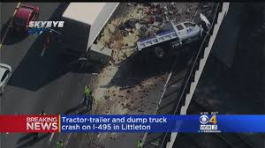 Tractor-Trailer, Dump Truck Crash In Littleton « CBS Boston Amazing Truck Accident Compilation And Trailer Dump Overturns Onto Car Burying It In Stones Inquirer News Fatal Naples Dump Crash Shuts Down Collier Blvd 1 Dead Whitby 680 News 2 Taken To Hospital After Suv Sandwiched Between Trucks Overturned Flyengulfed New Die Highway Patrol Rolled Over Struck Iredell Man Killed East Of Mooresville Auburn Injured Crashes Into Utility Pole Roxborough 6abccom No Injuries Reported Traindump Local Digital Seriously Semi Monday On I90 Near
