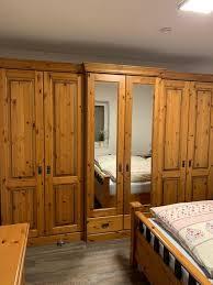 schlafzimmer komplett massiv top zustand