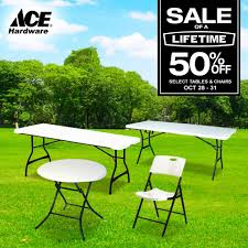 50% OFF On Selected Lifetime Products... - Ace Hardware ... Outer Banks Outdoor Fniture Ace Cssroads Hdware For Lithia Riverview Walshs 83 Lovely Models Of Folding Chairs Home Design Benefits Of Plastic Adirondack Chairs Blogbeen 34 Plastic Adirondack Top 40 Brentwood Your Helpful Store In Buck Electricace Relocation Schuled This All Set Parties Were Here To Garden Backyard Wonderful Ideas By Maxbauer Stores Traverse City