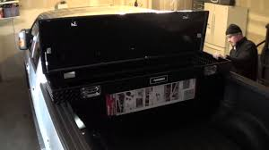 2013 F150 Husky Truck Tool Box Install And Review In Less Than 5 ...