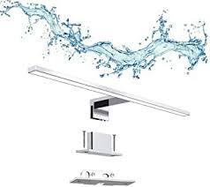 erwey 2 in 1 led spiegelleuchte ip44 badleuchte badle