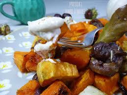 cuisiner le potimarron en l馮ume mêlée de potimarron patate douce topinambours et châtaignes