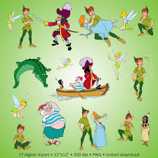 Peter Pan Pumpkin Stencils Free by Buy 2 Get 1 Free Digital Clipart Peter Pan Lovely