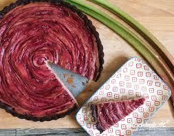 rhabarber tarte low carb fructosearm glutenfrei vegan und zuckerfrei