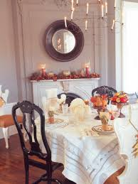 Dining Room Table Decorating Ideas For Fall by Traditional Thanksgiving Decorating Ideas Hgtv