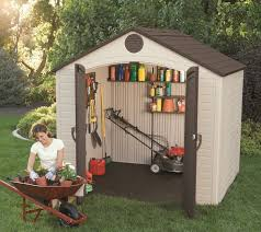 4x6 Plastic Storage Shed by Outdoor Plastic Storage Sheds Outdoor Designs