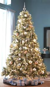 Marvellous Inspiration Ideas Tree Flocked Trees Pictures Reference Artificial 9 Ft Rotating Skillful Martha Stewart Christmas