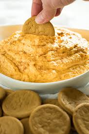 Pumpkin Cheesecake Snickerdoodles by Pumpkin Cheesecake Dip The Salty Marshmallow
