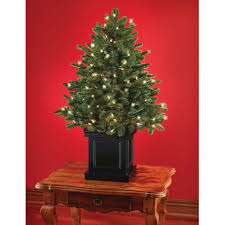 Pre Lit Flocked Christmas Tree Uk by Pre Lit Tabletop Christmas Tree Luxury Table Top Enchanting Ft