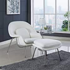 WOMB LOUNGE CHAIR & OTTOMAN By Modway Simple Yet Comfy Eames Lounge Chair And Ottoman Home Ideas Collection Lounge Chair White Herman Miller And White Ash In Mohair Supreme Style White Leather Walnut Wood Replica Via Jelanieshop Dwell Chairs Catalonia Mod Natural Silver Version Risom Inspired Summile Barcelona Stool Set Pu Black Vitra Keller Gray