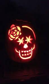 Sugar Skull Pumpkin Carving Patterns by 49 Best Halloween Images On Pinterest Autumn Cool Pumpkin