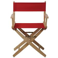 American Trails 18 In. Extra-Wide Natural Wood Frame/Red Canvas Seat ... Amazoncom Easy Directors Chair Canvas Tall Seat Black Wood Folding Wooden Garden Fniture Out China Factory Good Quality Lweight Director Vintage Chairs With Mercury Outboard Acacia Natural Kitchen Zccdyy Solid High Charles Bentley Fsc Pair Of Foldable Buydirect4u Aland Departments Diy At Bq Stock Photo Picture And Royalty Bar Stools A With Frame For Rent