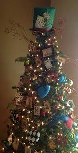 Alice In Wonderland Inspired Christmas Tree Craft Room Secrets