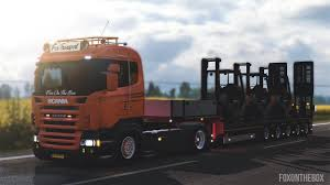 100 Panther Trucking Company Ownable Overweight Trailer Doll V 10 Euro Truck Simulator 2 Mod