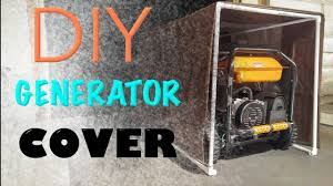 Portable Generator Shed Plans by Easy Diy Portable Generator Tent Cover Youtube