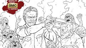 Color In Your Favorite Corpses With The Walking Dead Coloring Book