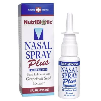Nutribiotic Nasal Spray Plus With Grapefruit Seed Extract - 29.5ml