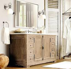 Restoration Hardware Bathroom Vanity Single Sink by St James Extrawide Single Vanity Sink Restoration Hardware