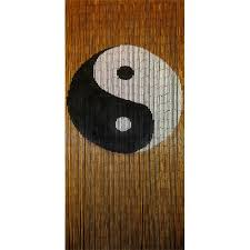 Bamboo Beaded Door Curtains Australia by Yin And Yang Beaded Door Curtain Buy Online From New Age Markets