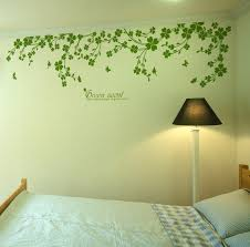 Butterfly In Vine Wall Decals