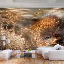 decomonkey fototapete pusteblume abstrakt 350x256 cm xl