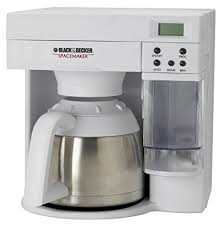 Black Decker ODC405 Spacemaker 10 Cup Stainless Steel Thermal Carafe Coffeemaker