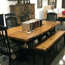 Mission Dining Table Room Chairs Trestle Style With Leaves