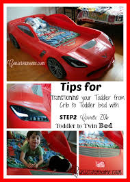 tips for transitioning your toddler from crib to bed with step 2